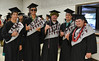 """Graduates pose for a photo before commencement in Hilo. Hawaii Community College celebrated spring 2019 commencement on Friday, May 10, 2019 at the the Edith Kanakaole Multi-Purpose stadium. Go the Hawaii Community College's Flickr album for more photos from the Hilo ceremony: <a href=""""https://www.flickr.com/photos/53092216@N07/sets/72157680393896768"""">www.flickr.com/photos/53092216@N07/sets/72157680393896768</a>"""
