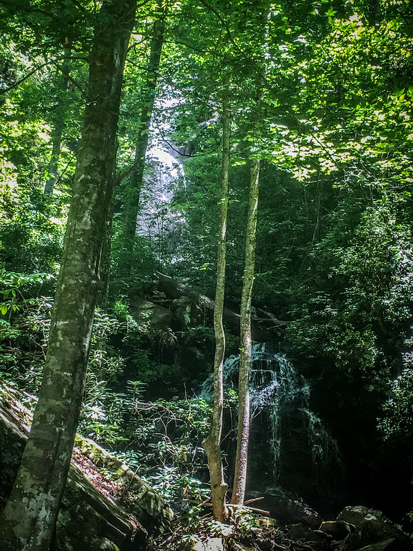 Lake Jocassee and Waterfalls
