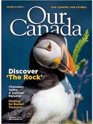 Be sure to check out my photo essay published in the June/July issue of Our Canada magazine :grinning: