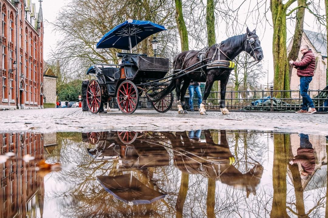 Bruges, come arrivare