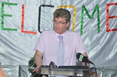 British High Commissioner to Guyana, HE Greg Quin.