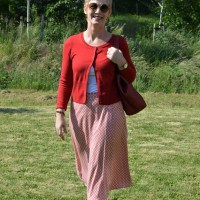 Outfit of the Week: Red for summer