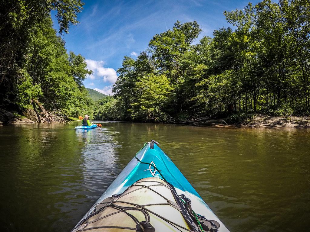 Paddling the North Toe River-38