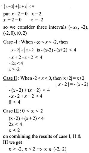 HSSlive Plus One Maths Chapter Wise Questions and Answers Chapter 6 Linear Inequalities 11