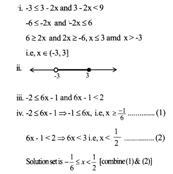 HSSlive Plus One Maths Chapter Wise Questions and Answers Chapter 6 Linear Inequalities 15