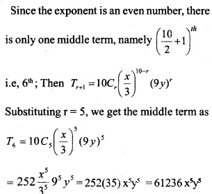 HSSlive Plus One Maths Chapter Wise Questions and Answers Chapter 8 Binomial Theorem 30