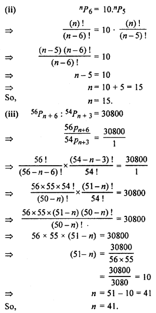 RBSE Solutions for Class 11 Maths Chapter 6 Permutations and