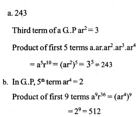 HSSlive Plus One Maths Chapter Wise Questions and Answers Chapter 9 Sequences and Series 1