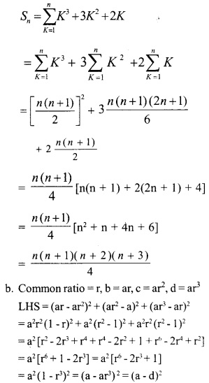 HSSlive Plus One Maths Chapter Wise Questions and Answers Chapter 9 Sequences and Series 32