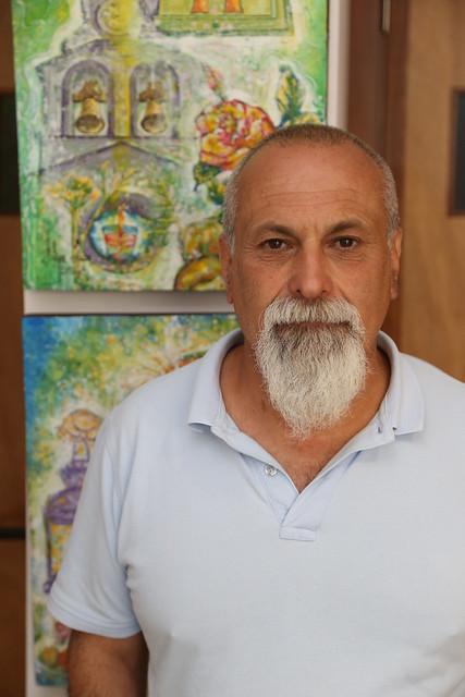 El maestro Miguel González Pérez pregonero de San Vicente Ferrer de Valleseco