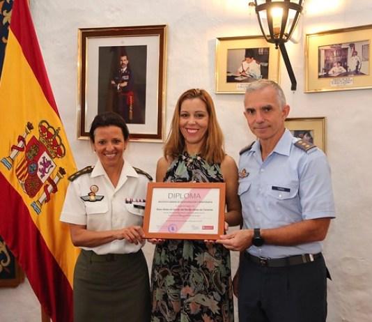 El ICHH agradece a la Base Aérea de Gando del Mando Aéreo de Canarias su implicación en la donación de sangre
