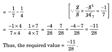 NCERT Solutions for Class 8 Maths Chapter 1 Rational Numbers Q1.3