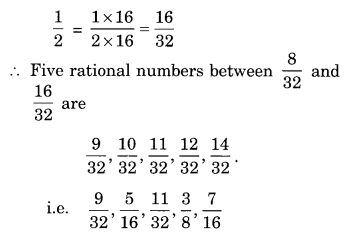 NCERT Solutions for Class 8 Maths Chapter 1 Rational Numbers Ex 1.2 Q5.1