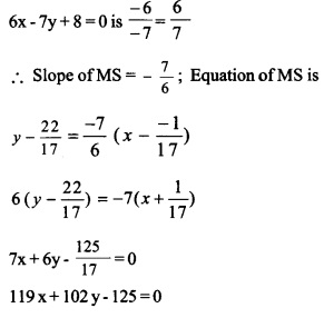 HSSlive Plus One Maths Chapter Wise Questions and Answers Chapter 10 Straight Lines 57