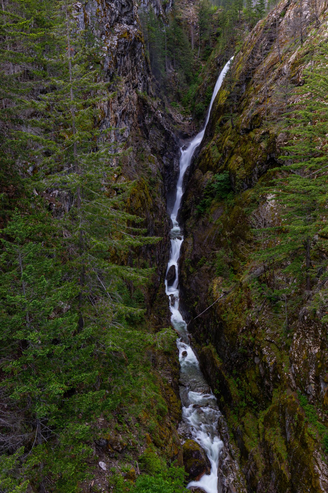05.26. North Cascades. Gorge Falls