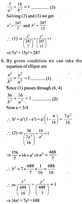 HSSlive Plus One Maths Chapter Wise Questions and Answers Chapter 11 Conic Sections 15