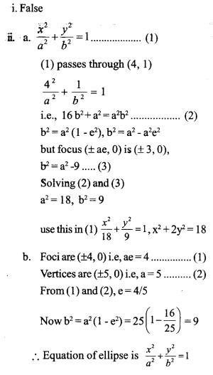 HSSlive Plus One Maths Chapter Wise Questions and Answers Chapter 11 Conic Sections 12