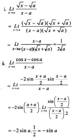 HSSlive Plus One Maths Chapter Wise Questions and Answers Chapter 13 Limits and Derivatives 38