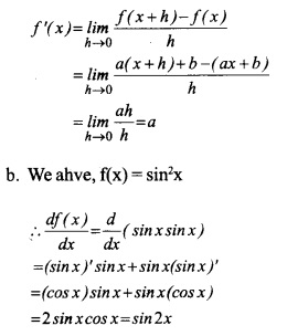 HSSlive Plus One Maths Chapter Wise Questions and Answers Chapter 13 Limits and Derivatives 15