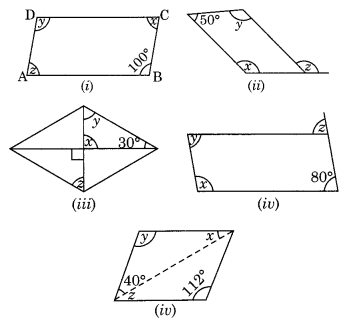 NCERT Solutions for Class 8 Maths Understanding Quadrilaterals Ex 3.3 Q2