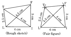 NCERT Solutions for Class 8 Maths Chapter 4 Practical Geometry Ex 4.2 Q1