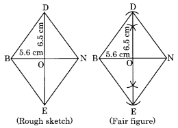 NCERT Solutions for Class 8 Maths Chapter 4 Practical Geometry Ex 4.2 Q1.2