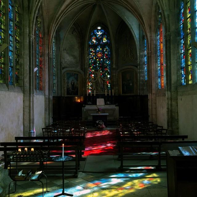 St Nicolas Church in Blois