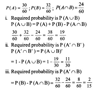 HSSlive Plus One Maths Chapter Wise Questions and Answers Chapter 16 Probability 20