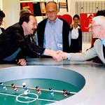 Michael Erlhoff, Alberto Alessi, Alessandro Mendini Jun 2000