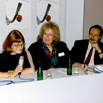 Uta Brandes, Marie Huellenkremer, Michael Erlhoff;  LuckyStrike Designer Award Hamburg 1992