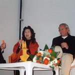 Michael Erlhoff, Motoko Ishi, Ingo Maurer Preisverleihung Kölner Klopfer 2001