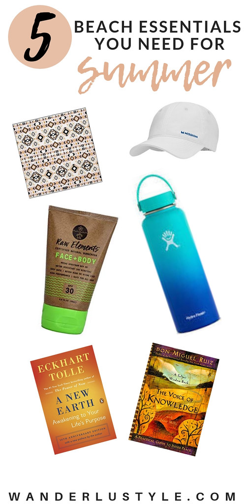 BEACH ESSENTIALS YOU NEED FOR SUMMER