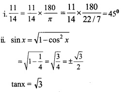 HSSlive Plus One Maths Chapter Wise Previous Questions Chapter 3 Trigonometric Functions 24