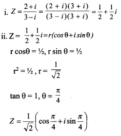 HSSlive Plus One Maths Chapter Wise Previous Questions Chapter 5 Complex Numbers and Quadratic Equations 11