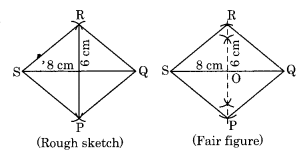 Practical Geometry NCERT Extra Questions for Class 8 Maths Q5