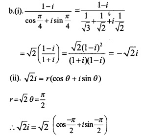 HSSlive Plus One Maths Chapter Wise Previous Questions Chapter 5 Complex Numbers and Quadratic Equations 32