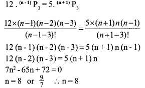HSSlive Plus One Maths Chapter Wise Previous Questions Chapter 7 Permutation and Combinations 26