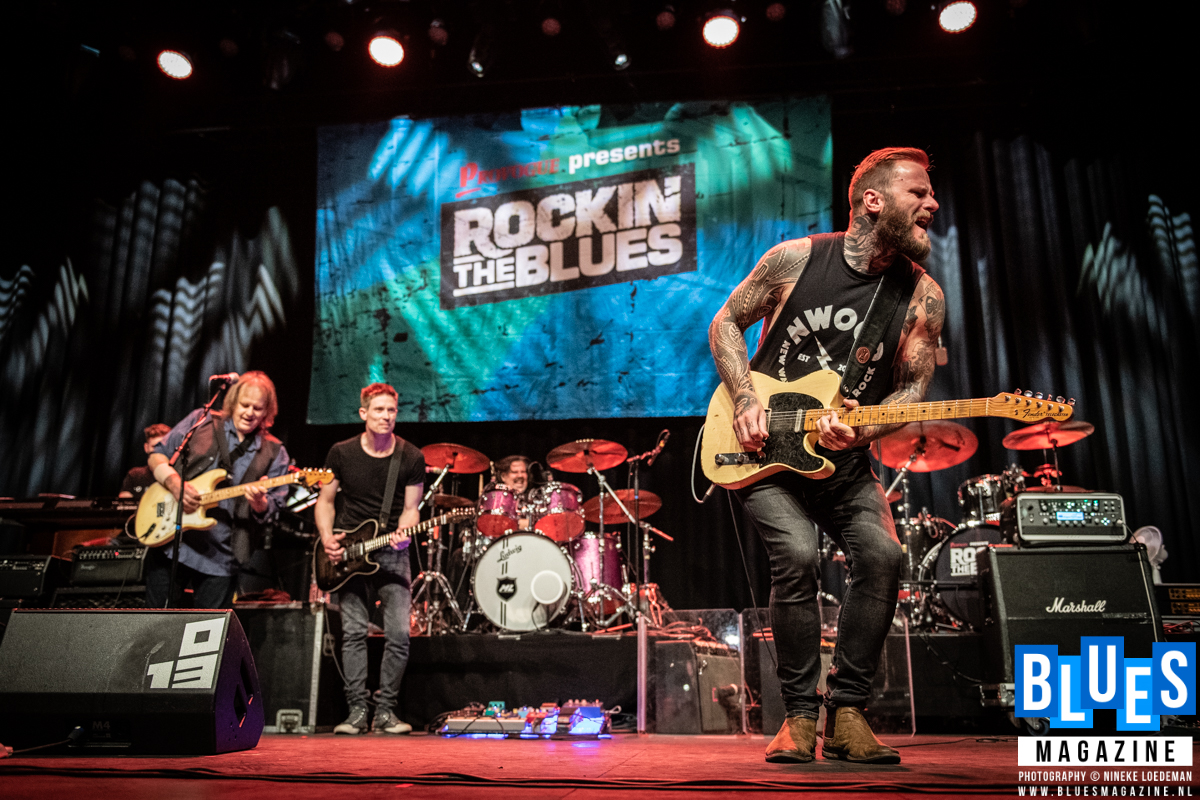 Walter Trout - Jonny Lang - Kris Barras @ Rockin' The Blues Festival 2019-7