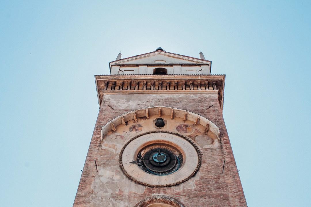 Torre dell'Orologio, Piazza delle Erbe, Mantova