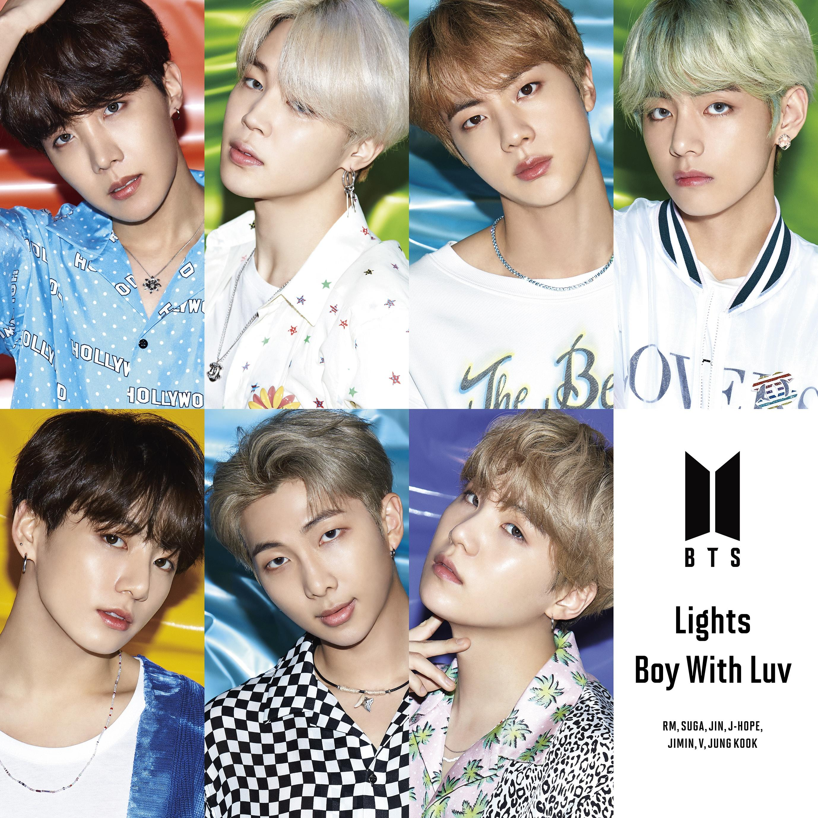 "[Info] BTS 10th Single Album "" Lights/Boy With Luv (Japanese ver.)"" [190510]"
