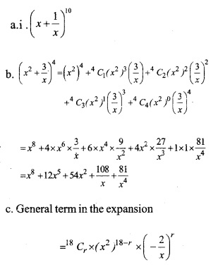 HSSlive Plus One Maths Chapter Wise Previous Questions Chapter 8 Binomial Theorem 2