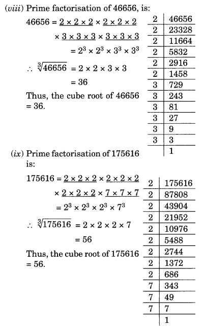 NCERT Solutions for Class 8 Maths Chapter 7 Cubes and Cube Roots Ex 7.2 Q1.5