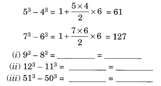 Cubes and Cube Roots NCERT Extra Questions for Class 8 Maths Q13