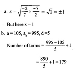 HSSlive Plus One Maths Chapter Wise Previous Questions Chapter 9 Sequences and Series 28