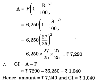 Comparing Quantities NCERT Extra Questions for Class 8 Maths Q17
