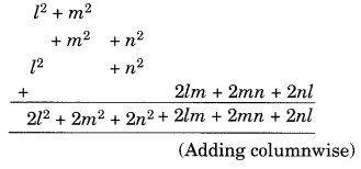 NCERT Solutions for Class 8 Maths Chapter 9 Algebraic Expressions and Identities Q3.1