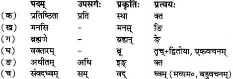 RBSE Solutions for Class 12 Sanskrit Chapter 1 मङ्गलाचरणम् 3