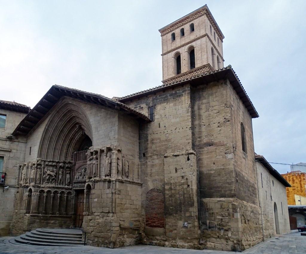 exterior Iglesia de San Bartolome Logroño La Rioja 02