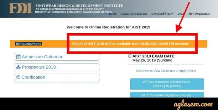 FDDI AIST 2019 Result