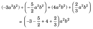 Algebraic Expressions and Identities NCERT Extra Questions for Class 8 Maths Q4